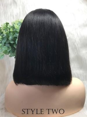 $99 Get This Human Hair Bob Lace Front Wig [B14]