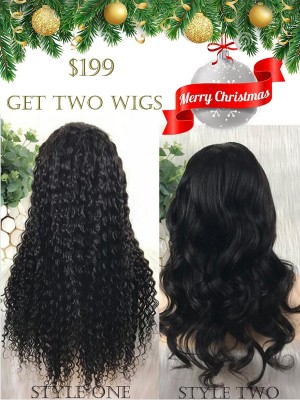 $199 Get Two Wigs Merry Christmas Shopping Carnival [B01]