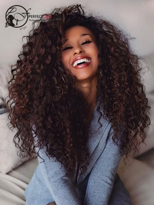 Brazilian Virgin Hair Deep Wave 360 Lace Wig Pre Plucked Hairline With Baby Hair [360LW39]