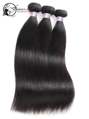 Silk Straight Natural Color Brazilian Hair 9A Hair Weave Bundles 3 Pieces [W01]