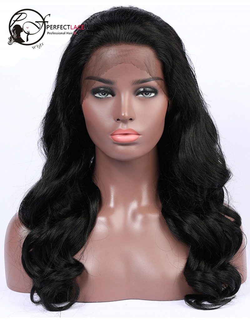 Brazilian Virgin Human Hair Body Wave 360 Lace Wig For Black Women Pre  Plucked Natural Hairline With Baby Hair 82b698616