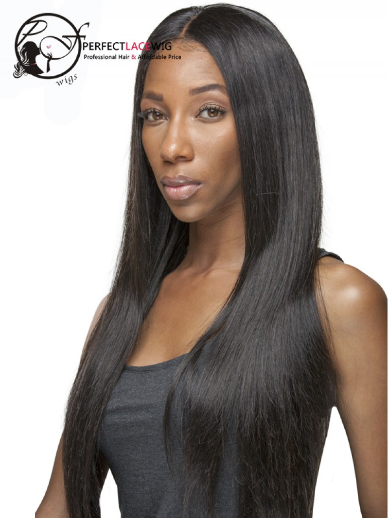 Pre Plucked Natural Color Silky Straight Brazilian Virgin Hair 360 Lace  Frontal Closure For Black Women 537d65b9c7