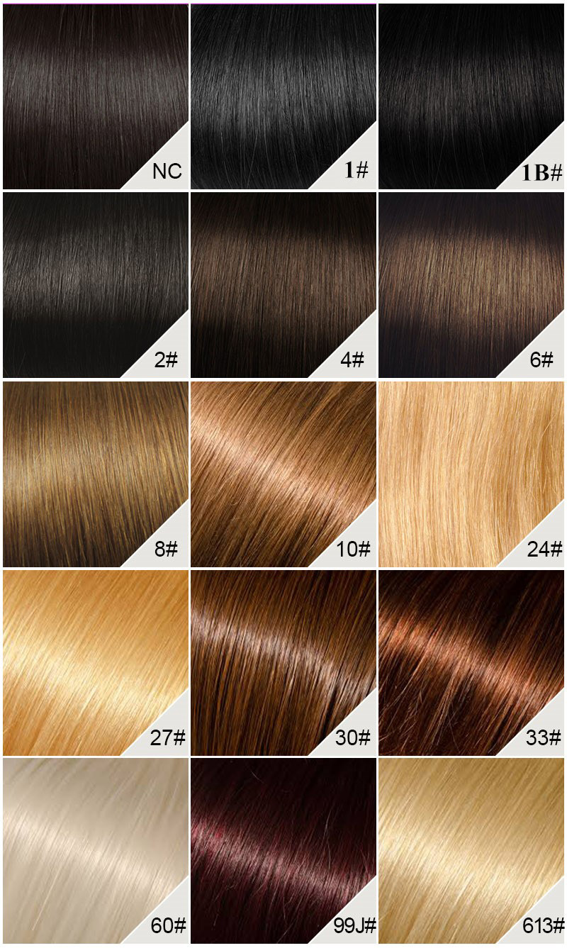 perfectlacewig color chart to choose